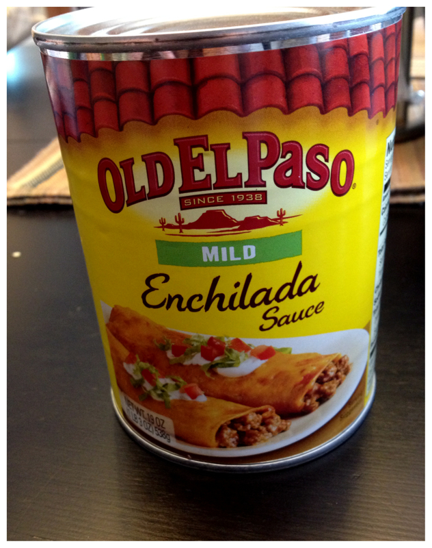 Old El Paso Enchilada Sauce - Poor Man's Atkins